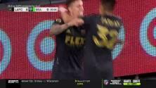 Exquisita definición del uruguayo Brian Rodríguez le da el 1-0 al LAFC