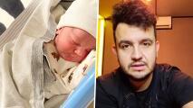 Hospitalizan de emergencia al hijo de Edén Muñoz de casi un mes de vida