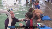Aprender a nadar para evitar ahogamientos