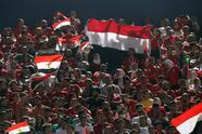 Soccer Football - Africa Cup of Nations 2019 - Group A - Egypt v Zimbabwe - Cairo International Stadium, Cairo, Egypt - June 21, 2019 Egypt fans during the match REUTERS/Amr Abdallah Dalsh