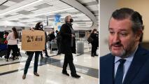 Demócratas exigen a Ted Cruz que renuncie por huir a Cancún mientras Texas sufre