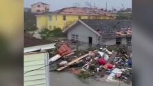 Estas son algunas de las impactantes imágenes que deja la destrucción del huracán Dorian en Bahamas