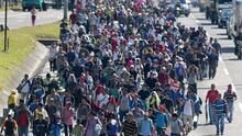 Una nueva caravana migrante se alista para salir de Tapachula rumbo a la Ciudad de México