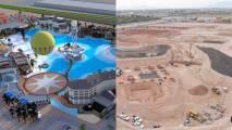 Así va el progreso de Crystal Lagoons Island Resort, un parque acuático y resort cerca de Westgate en Glendale