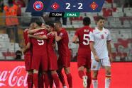 ¡Campanada! Montenegro le empata a Turquía a domicilio