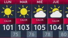 Clima: se avecina una calurosa semana en Arizona
