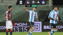 Gol de Hirving Lozano en triunfo del Napoli a Crotone
