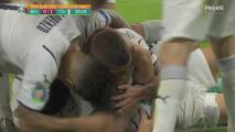 ¿De dónde sacó el disparo? Nicolò Barella anota el 0-1 de Italia
