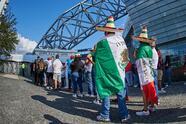 Fans o Aficion before the friendly game Mexico vs Iceland, prior to the final four of the Concacaf Nations League, at the AT-T Stadium, on May 29, 2021.  <br> <br> Fans o Aficion previo al partido amistoso Mexico vs Islandia, previo al final four de la Liga de Naciones de la Concacaf, en el Estadio AT-T, el 29 de mayo de 2021.