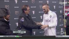 El MVP de la MLS Cup fue Stefan Frei