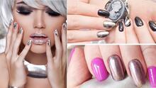 Diseños de uñas con efecto espejo: la tendencia más elegante que veremos en 2022