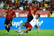 España golea a Georgia con doblete de Gayá