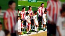 ¡Felicidad! Matías Almeyda jugó con los colores de Chivas