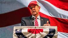 Gobernador Brian Kemp recibe abucheos durante discurso en la convención republicana de Georgia