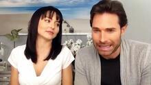 Sebastián Rulli confiesa que ha encontrado llorando a su novia Angelique Boyer al verse en la TV