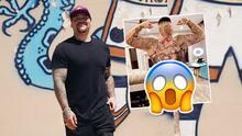 """Hasta las nachas"": Andy Ruíz Jr. revela nuevo tatuaje"