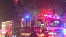 Incendio afecta la vivienda de una familia al sur de San Antonio