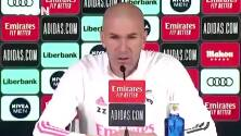 """Zidane dice que """"molesta"""" que se cuestionen los arbitrajes al Madrid"""