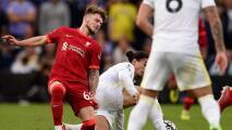 Escalofriante lesión de Harvey Elliot, nueva promesa del Liverpool