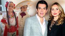 Elizabeth Álvarez y Jorge Salinas no compran juguetes a sus mellizos, ellos deben ganar el dinero para hacerlo