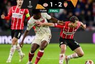 Resumen | AS Monaco sorprende al final y vence 1-2 al PSV Eindhoven