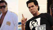 """""""Para los mirreyes"""": Roberto Palazuelos presume su nueva línea de ropa"""