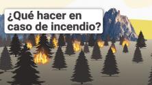Así debes prepararte para evacuar tu hogar en caso de un incendio forestal