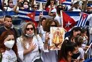 """El papa Francisco dijo que está rezando para que haya """"diálogo y solidaridad"""" en Cuba"""