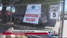 Agentes de la Patrulla Fronteriza y comunidad se unen para ayudar a los damnificados de Houston