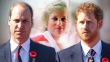 Harry llega a Gran Bretaña para develar la estatua de su madre, Lady Di, junto al príncipe William