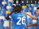 Con el Chucky, Napoli le remonta a la Juventus que no gana sin Cristiano