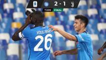 Napoli le remonta a Juventus con el Chucky y lidera la Serie A