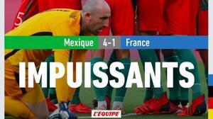 El mundo se rinde ante la goleada de México contra Francia