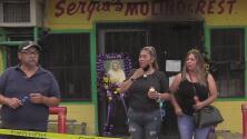 Rinden tributo a Don Sergio Salcedo, el fundador de un restaurante ícono en San Antonio quien murió en un incendio