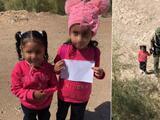 Agentes de la Patrulla Fronteriza encuentran a dos niñas cruzando solas la frontera