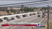 Reparaciones en la autopista 80 causan demoras