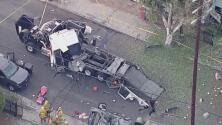 Casas dañadas y afectados sin ayudas, la situación después de la explosión de fuegos artificiales en Los Ángeles