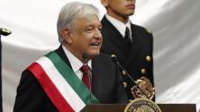 """""""He recibido un trato respetuoso de Trump"""": AMLO en su primer discurso como presidente de México"""