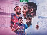 Los debutantes del Clásico Barça-Madrid: Agüero, Alaba, Memphis y Camavinga