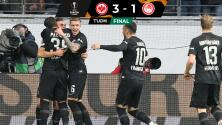 Resumen   Eintracht Frankfurt recompone y derrota al impetuoso Olympiakos