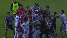 Se encendieron los ánimos al finalizar el juego entre León y Xolos