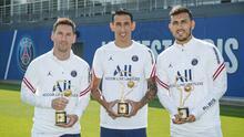 Messi no ha jugado aún, pero el PSG ya le dio su primer trofeo