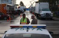 Refuerzan seguridad en Surfside para recibir al presidente Biden y a la primera dama