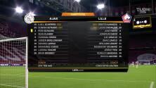 Resumen del partido Ajax vs Lille