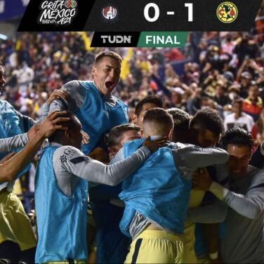 América saca el triunfo 0-1 sobre San Luis en el tiempo agregado