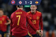 Con milagro de último minuto, España evitó el ridículo ante Georgia