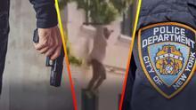 (VIDEO) Captan momento en que policía latina retirada se tira de un edificio tras ser amenazada con un arma por su pareja
