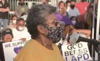 Tensión e indignación: Afectados por explosión en el sur de Los Ángeles se reúnen con las autoridades
