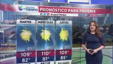 Prepárese para un martes muy caluroso en Arizona