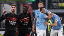 Milan logra tremenda remontada ante Verona y toma la cima